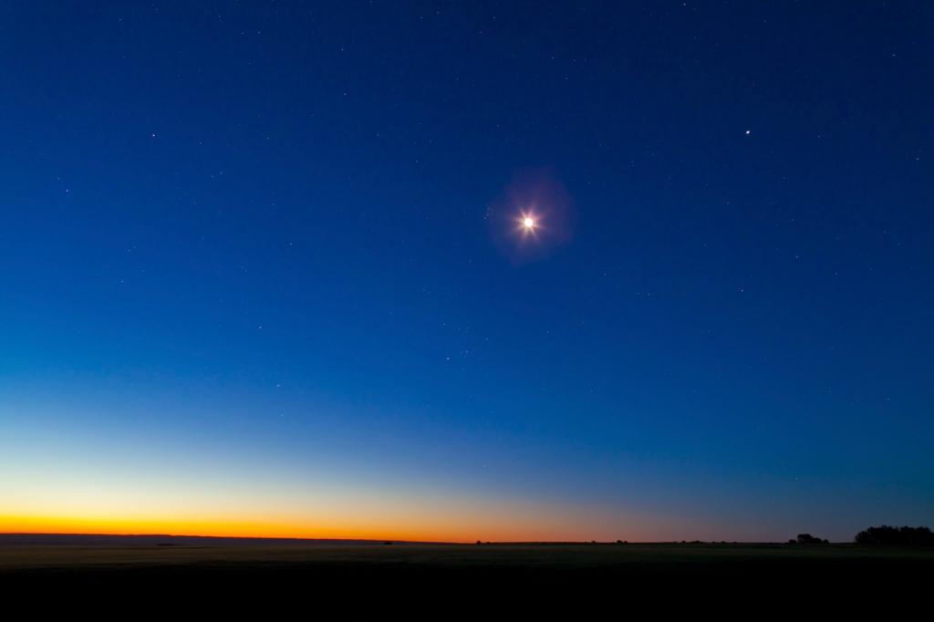 Dawn Sky Serenity