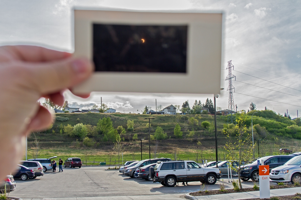 Eclipse — A Parking Lot Partial