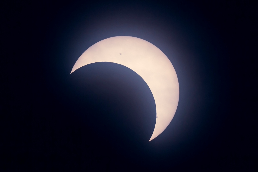 Partial Solar Eclipse — from Calgary