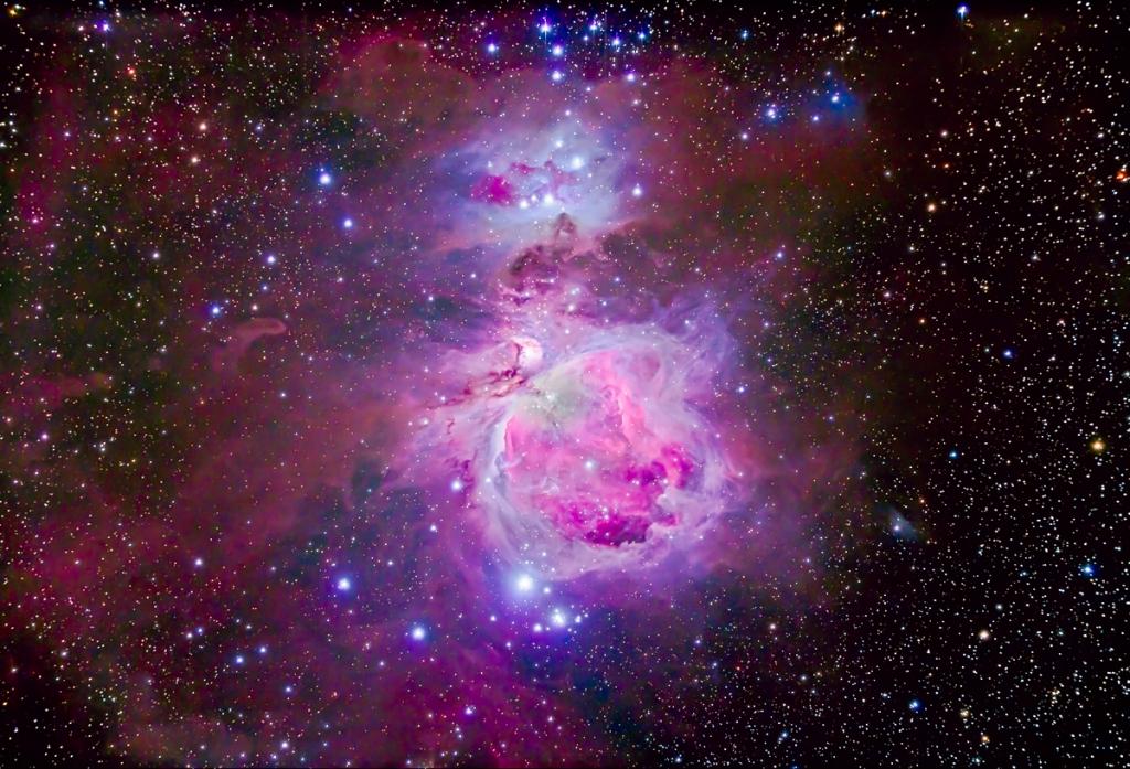 Orion Nebula Complex, M42, M43, NGC 1973-5-7