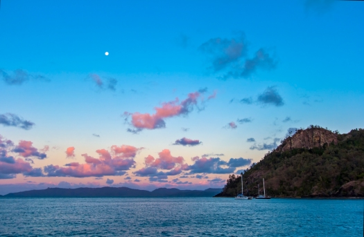 Moon Over Baur Bay, Whitsundays