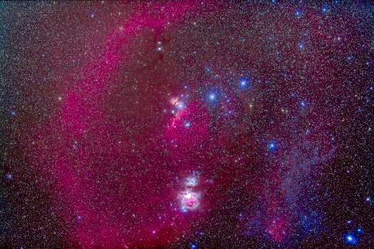The Nebulas of Orion v2