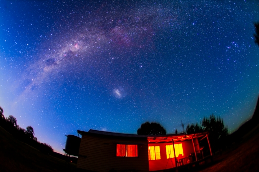 Southern Milky Way at Dawn (December 2012)