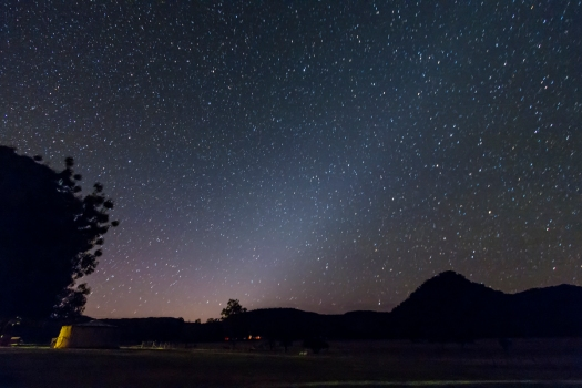 Zodiacal Light (Southern Spring Evening)