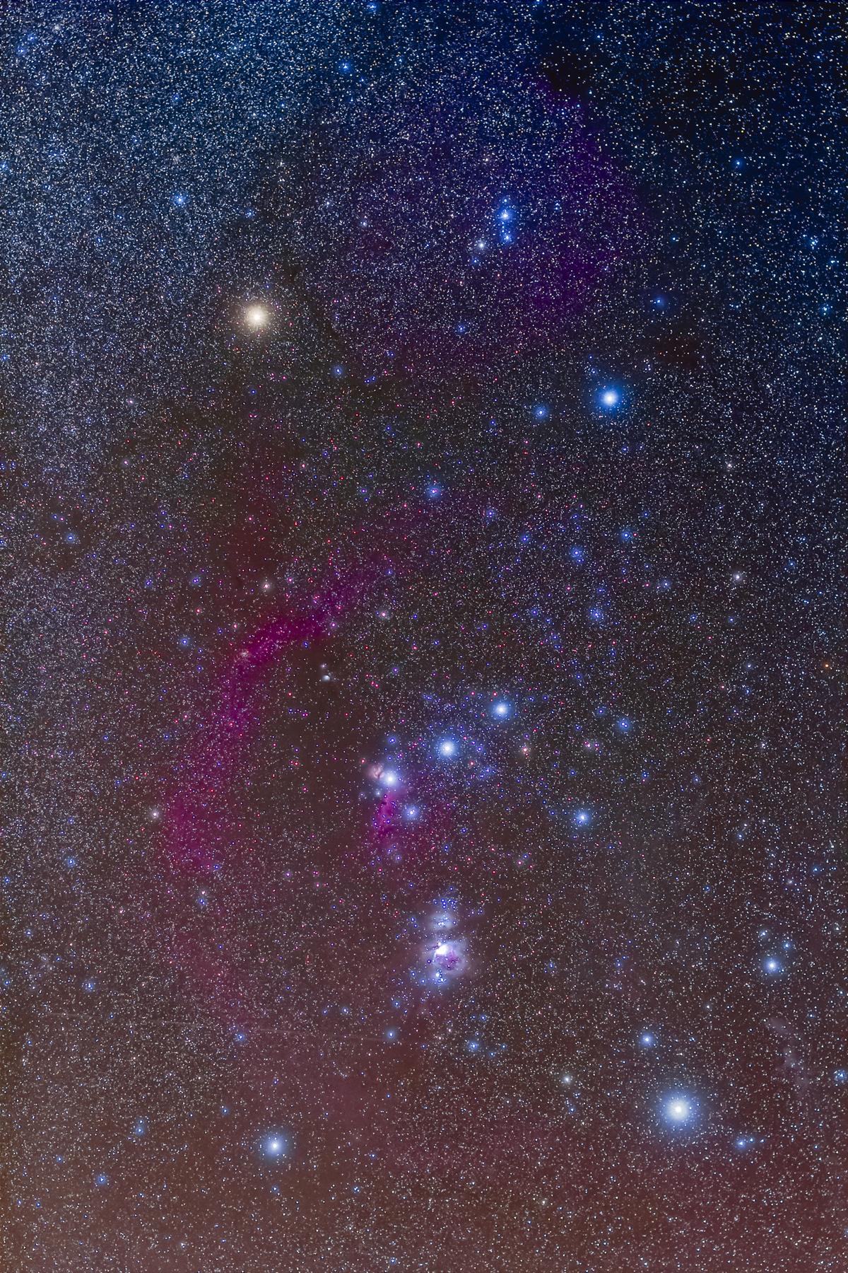 Orion in Porttrait Format