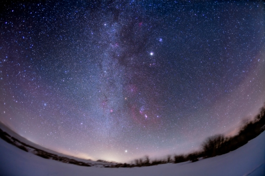 The Winter Sky, Northern Hemisphere