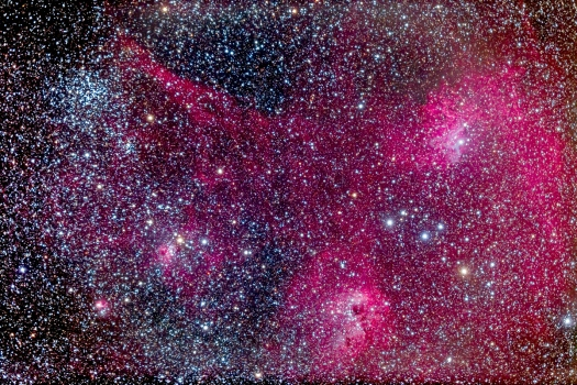 M38 & IC 405-410-417 Complex (92mm 6D)