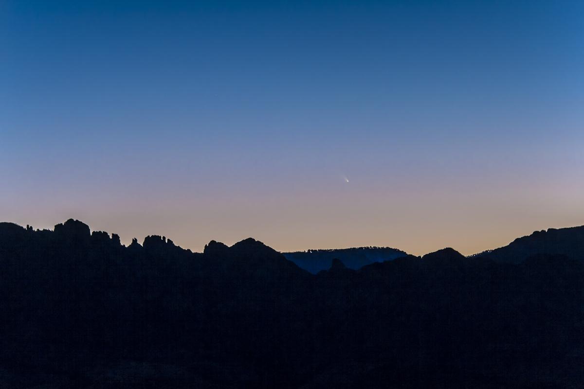 Comet PANSTARRS C/2011 L4 (March 10, 2013)