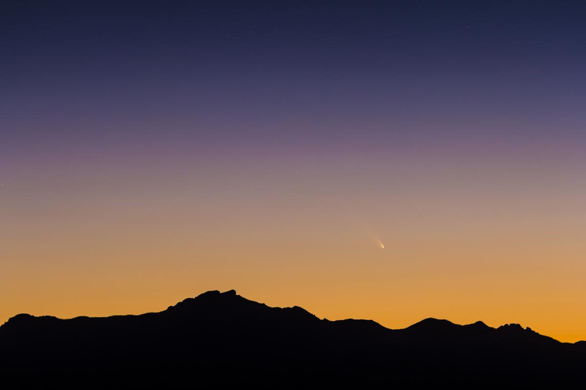 Comet PANSTARRS C/2011 L4 (March 11, 2013)