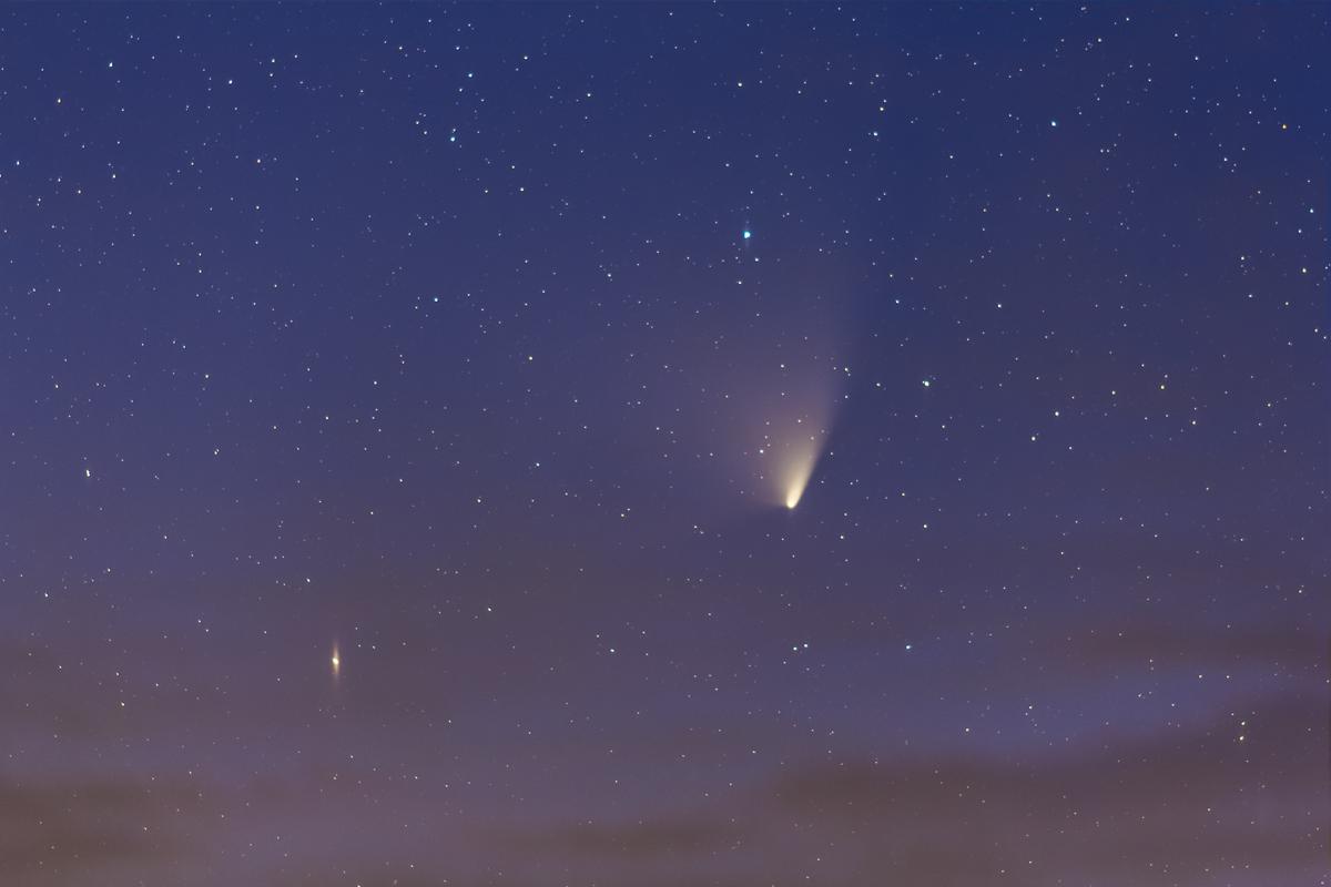 Comet PANSTARRS (March 28, 2013)