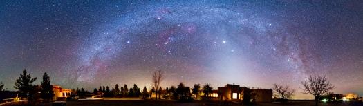New Mexico Milky Way Panorama