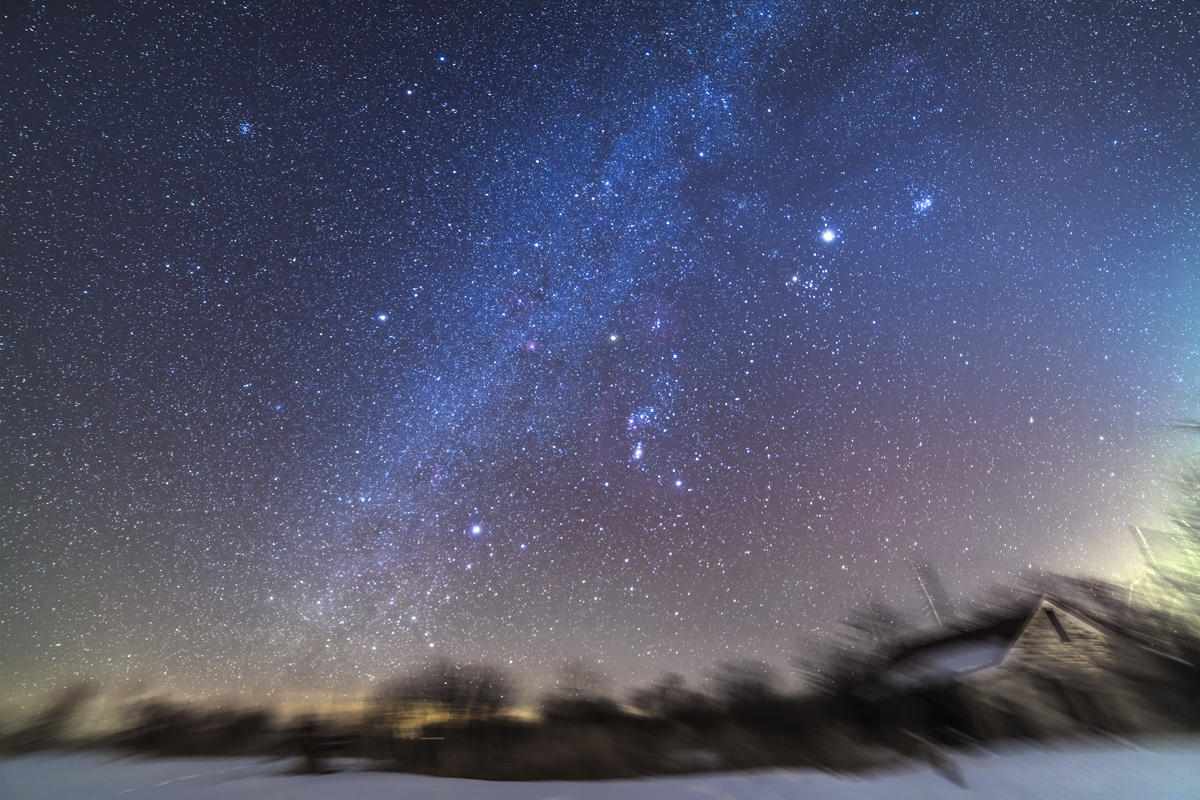 winter night sky planets - photo #44