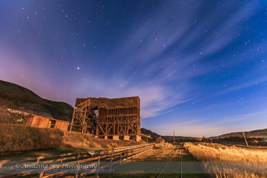 Big Dipper over Atlas Coal Mine (June 27, 2013)