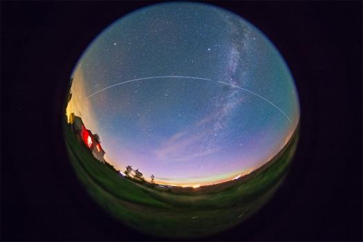 ISS Pass #2 (June 4-5, 2013)
