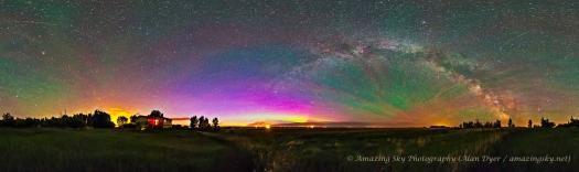 Colors of the Dark Sky Panorama