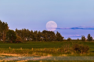 Supermoon Rise #1 (June 22, 2013)