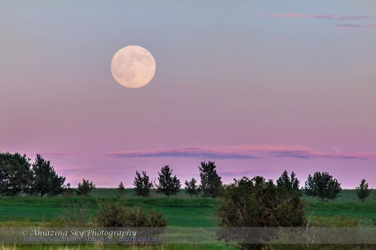 Supermoon Rise (June 22, 2013)