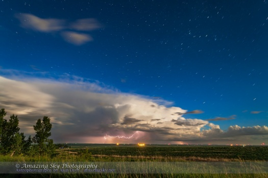 Thunderstorm in Moonlight (June 25, 2013)