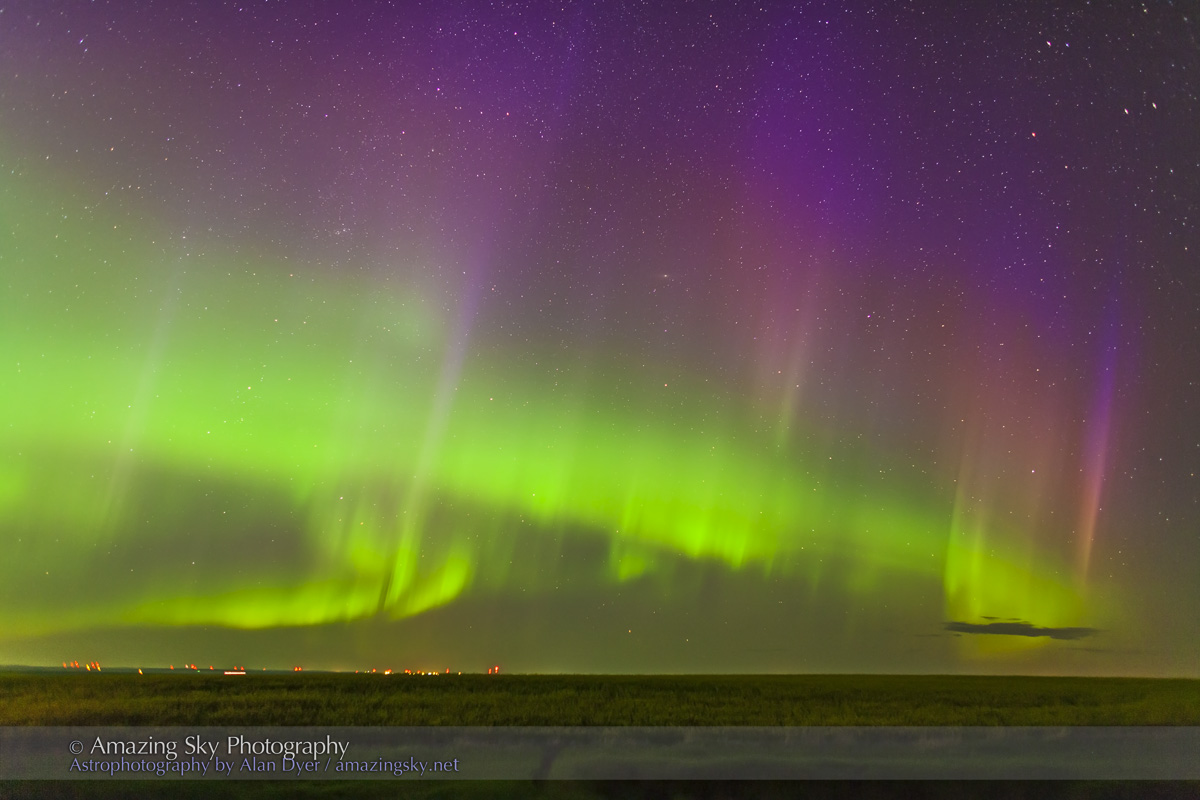 Auroral Curtains (July 9, 2013)