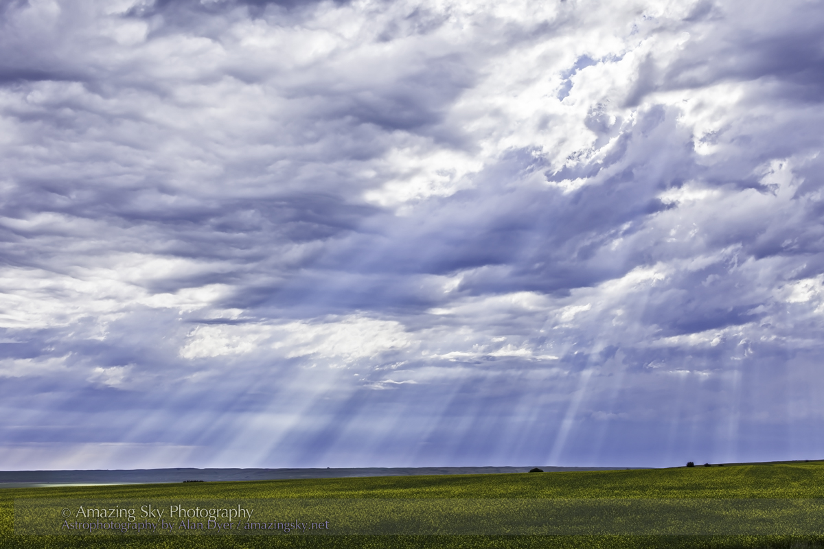 Daytime Crepuscular Rays #4 (July 24, 2013)