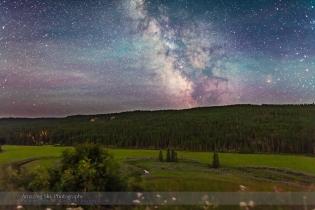 Milky Way over Battle Creek (July 14 2013)
