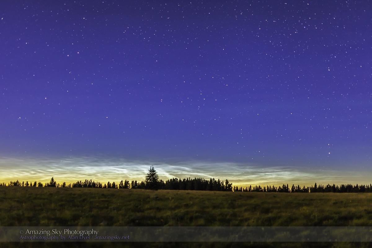 High Plains Panorama of the Night Sky – The Amazing Sky