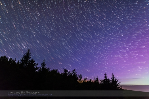 Star Rain - Big Dipper Star Trails
