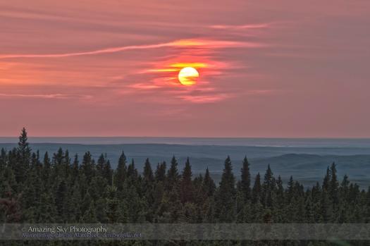 Horseshoe Canyon Sunset (August 11, 2013)
