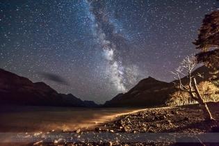 Waterton Lakes Milky Way #1 (Aug 29, 2013)