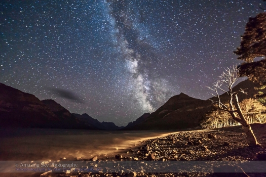 Waterton Lakes Milky Way #1 (Aug 29, 2013)