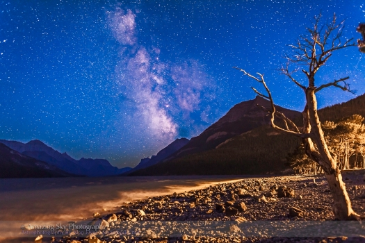 Waterton Lakes Milky Way #3 (Aug 29, 2013)