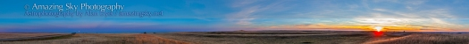 Harvest Moon Panorama (Sept 19, 2013)