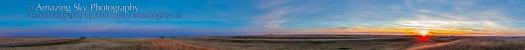 Harvest Moon Panorama (Sept 19, 2013)