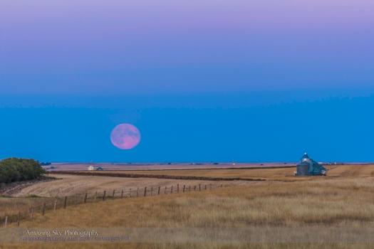 Harvest Moonrise #1 (Sept 19, 2013)