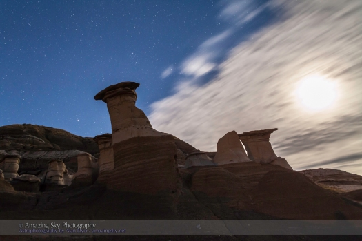 Hoodoos in Moonlight #1 (Sept 21, 2013)