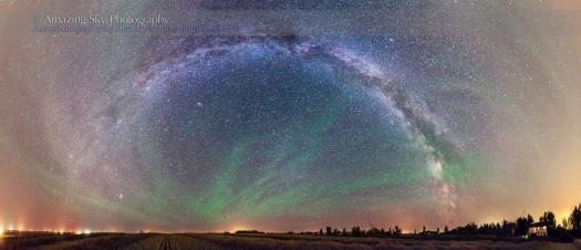 Milky Way Panorama (Sept 4, 2013)