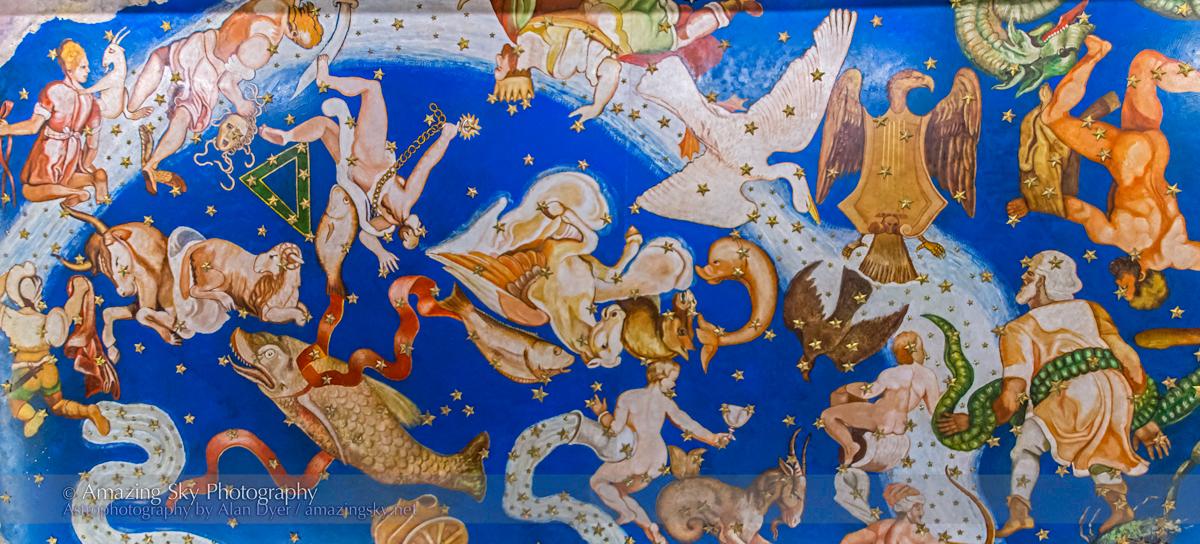 Constellation Ceiling in Columbus Museum