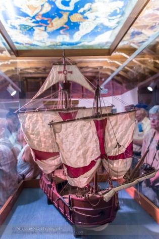 Columbus Ship Model