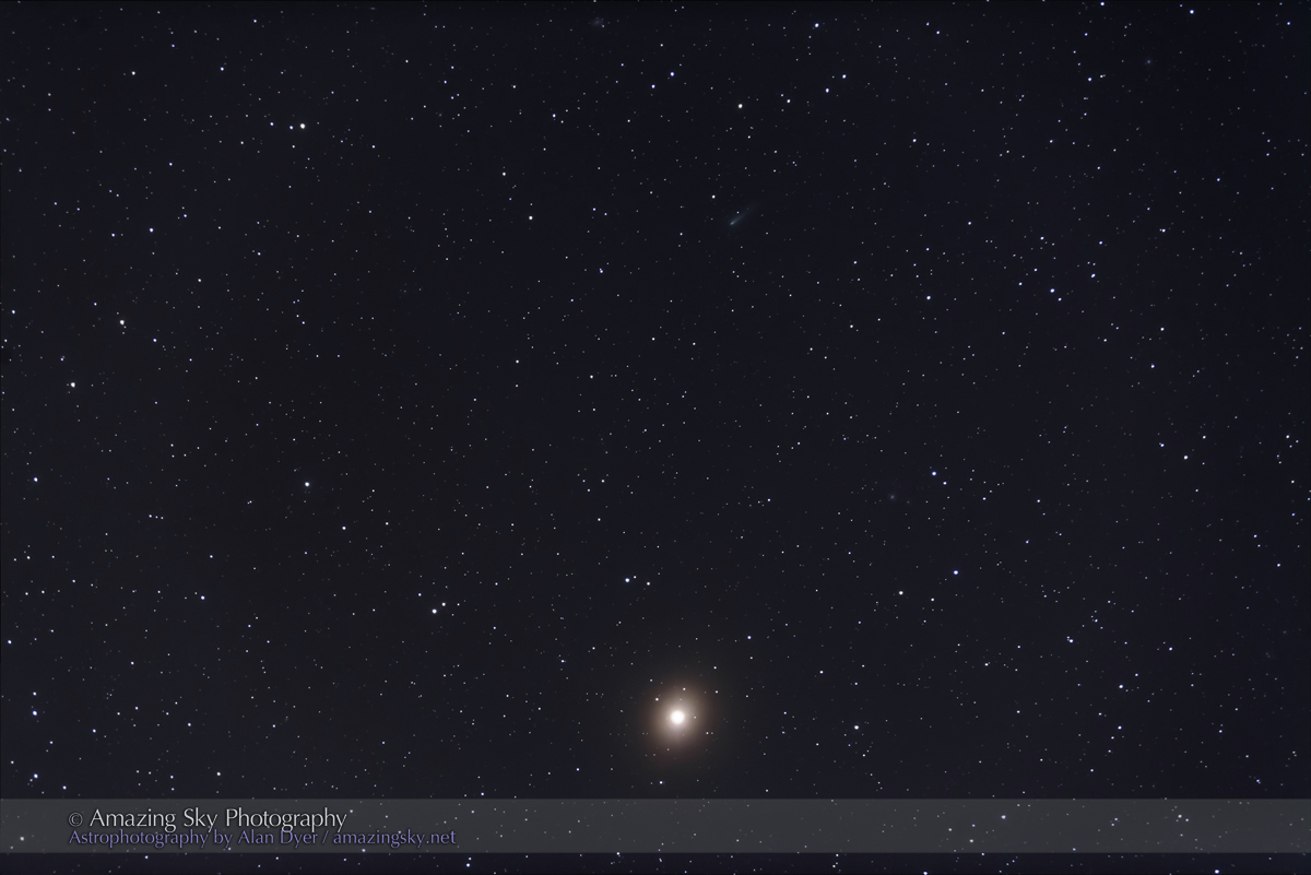 Comet ISON Passes Mars – The Amazing Sky