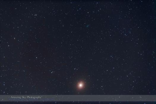 Comet ISON & Mars (Oct 8, 2013)