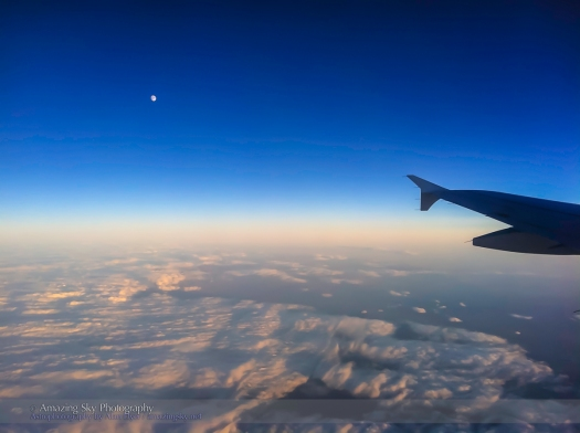 The Moon over Spain - Daytime