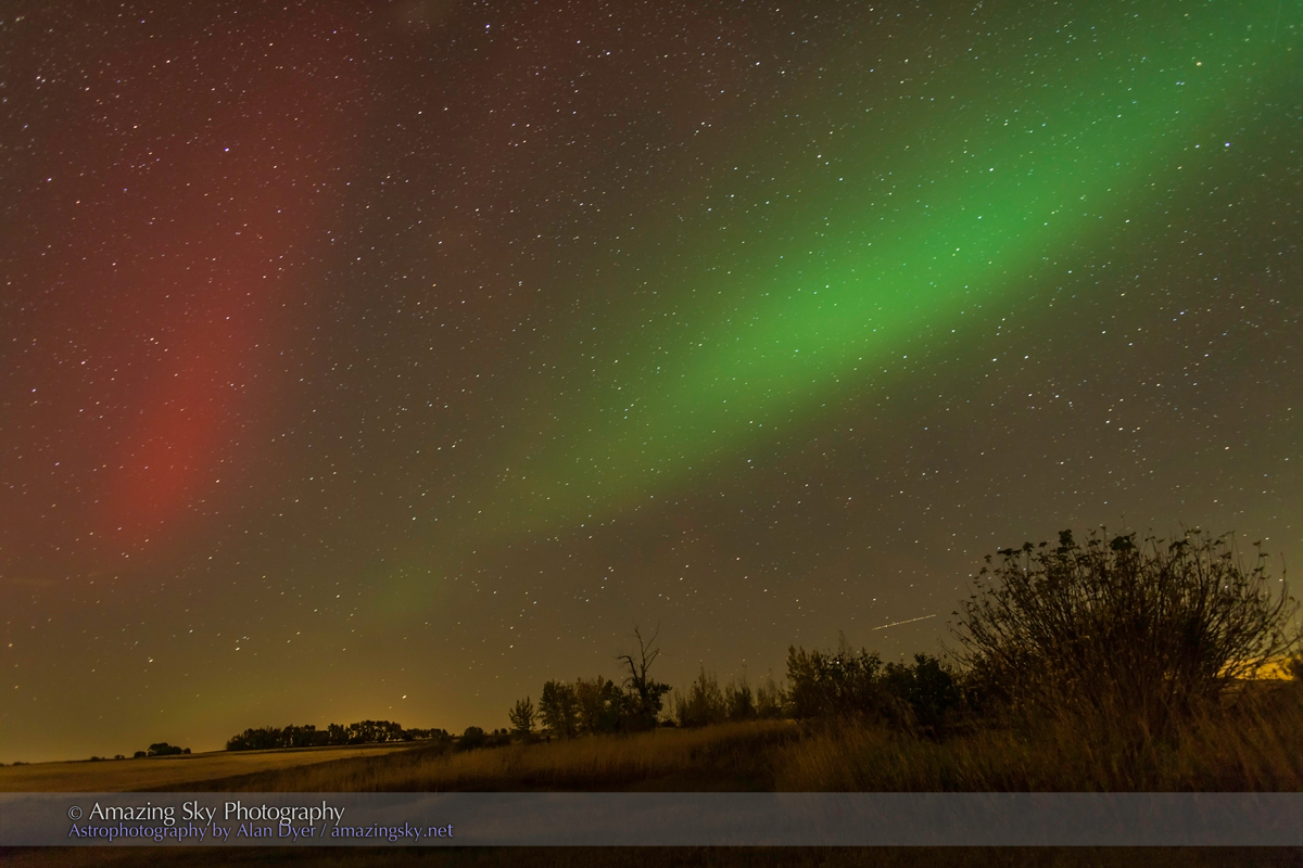 Red Aurora in the South (Oct 1, 2013)