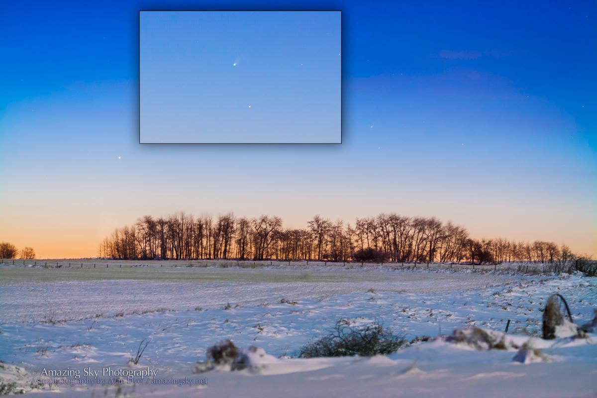 Comet ISON C/2012 S1 (Nov 21, 2013)