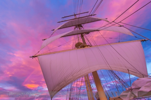 Sunset and Sails (Nov 8, 2013)