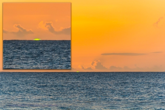 The Green Flash (Nov 15, 2013) from Barbados