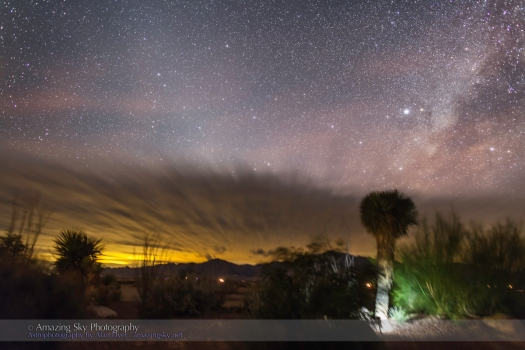 Zodiacal Light & Light Pollution (New Mexico)