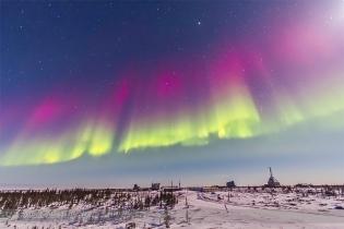 Aurora - Feb 7, 2014 (Over the Rocket Range)