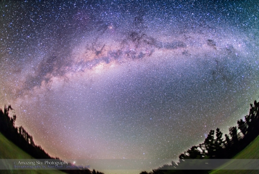 Southern Milky Way in the Morning (March 29, 2014)