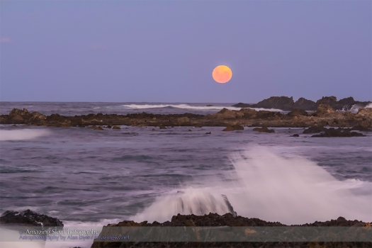 Moonrise at Woolgoolga, Australia #1