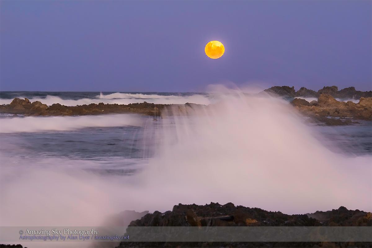 Moonrise at Woolgoolga, Australia #2